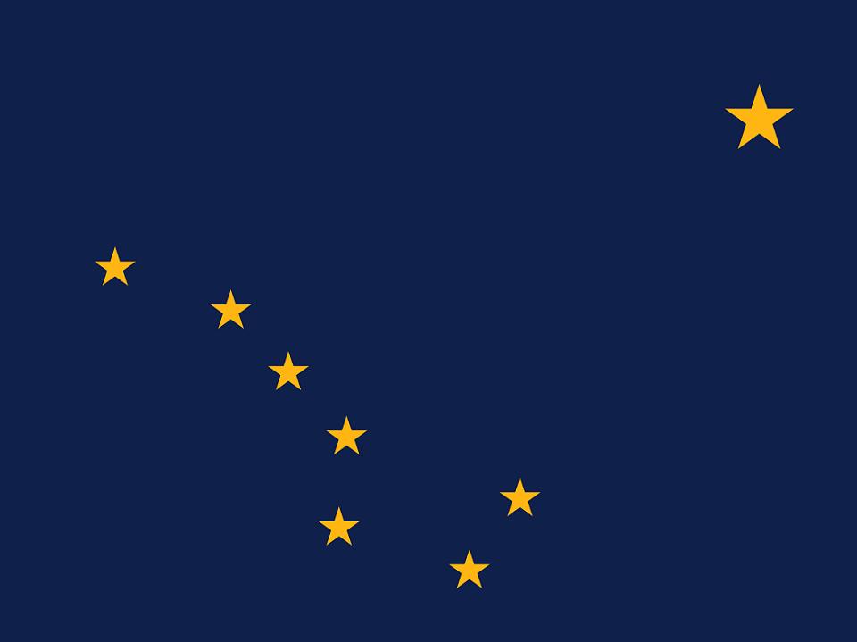 Alaskas flag