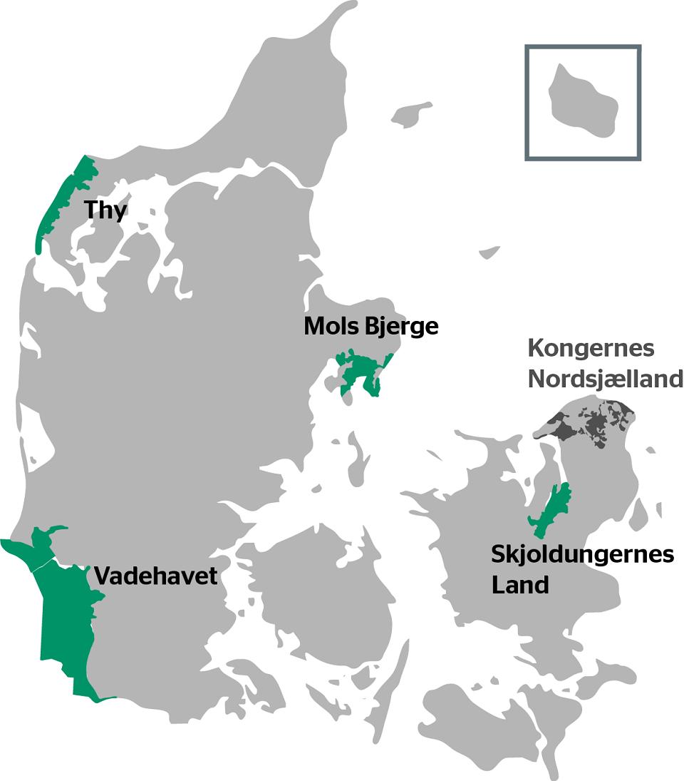 DK nationalparkkort